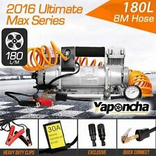 NEW 12V 200PSI Yaponcha Air Compressor 180L 4WD Portable Car Tyre Inflator Kit
