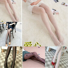 Fishnet HOT Stockings Sexy Pantyhose Tights Fashion Jacquard Pattern Black