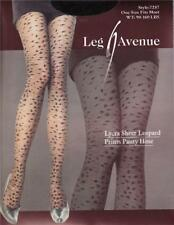 Ultra Sexy Lycra Sheer Leopard Print Tights -Ladies Patterned Fashion Pantyhose