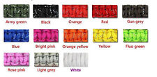 550 Paracord 7 Strand Reflective- Camping, Survival, Bracelet, Emergency, Crafts