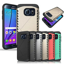 Rugged Dual Layer Protective Hard Back Cover Case for Samsung Galaxy S7 /S7 Edge