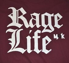 MGK Machine Gun Kelly Rage Life Men's Graphic Tee Bravado T-Shirt