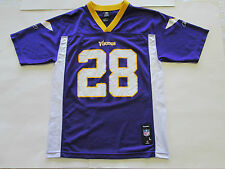 NFL Minnesota Vikings Adrian Peterson #28 Jersey by Reebok, Youth Large