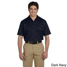 Dickies Men's Short Sleeve Collared Work Shirt. Shipping is Free