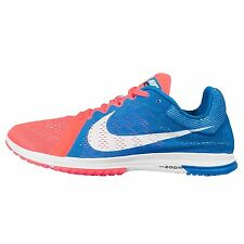 Nike Zoom Streak LT 3 Blue Orange Mens Running Racing Shoes Trainers 819038-418