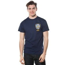 Men's NYPD Front Patch Police Theme T-shirt. Free Delivery