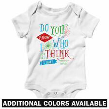 Do You Know Who I Am One Piece - Baby Infant Creeper Romper NB-24M - Funny Think