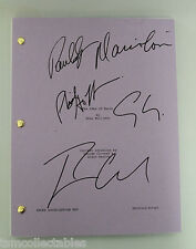 THE IDES OF MARCH signed script PHILIP SEYMOUR HOFFMAN Ryan GOSLING Clooney