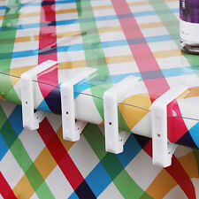 Plastic Table Cover Cloth Stainless Steel Tablecloth Clip Clamp Holder Wedding