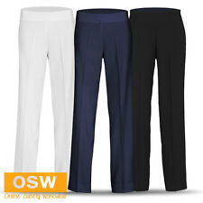 LADIES MODERN SPA/BEAUTY/HEALTH/RESORT STAIN RELEASE ELASTANE STRETCH PANTS