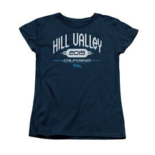 BACK TO THE FUTURE II HILL VALLEY 2015 Licensed Women's Tee Shirt SM-2XL