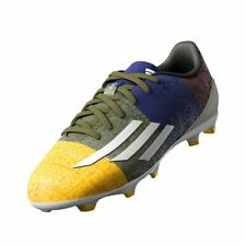 adidas F10 F50 FG Messi Soccer Football Boots Shoes JUNIOR Boys MOULDED