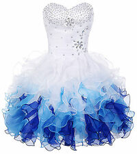Beaded Sexy Short Mini Cocktail Party Homecoming Dress Formal Evening Prom Dress