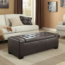 Wyndenhall Santa Fe Large Rectangular Storage Ottoman. Shipping Included