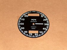 Triumph BSA Norton Smiths Chronometric Speedometer Face S608