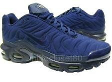 Nike Air Max Plus Quilted Tn Tuned 1 Midnight Navy Blue Mens Trainers 806242