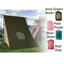 Fence Fort Kids' Indoor/Outdoor Easy-to-assemble Nylon Play Tent. Shipping is Fr