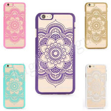 ee Thin Soft Tribal Mandala Lace Hard Back Case Cover for iPhone 6 PLUS 5S