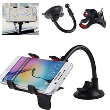 Black Car Windscreen Suction Mount Holder Cradle Stand for GPS Mobile Phone
