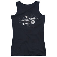TWILIGHT ZONE ANOTHER DIMENSION Licensed Junior Women's Tank Top Shirt SM-2XL