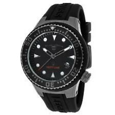 Swiss Legend Unisex 11044D-GM-01-NB Neptune Analog Display Swiss Quartz Black