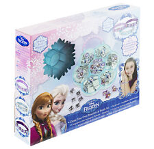 Disney Frozen Kids Girls Create Make Your Own Bracelet Bead Making Set 108 Piece