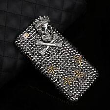 Crystal Pirate Skull Skeleton Hard Phone Case Cover For Apple iPhone 5 6S Plus