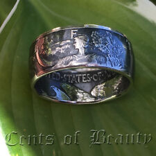 NEW** Coin Rings Handmade from 1939-1947 Walking Liberty Half Dollars 90% Silver