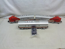 1991 Lionel SantaFe Chief F-3 ABA #11711 Diesel Locomotive Set MINT
