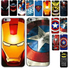 Hot Super Hero Patterns Style Hard Back Case Cover For iPhone 5s SE 6 6s Plus