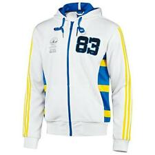 Men's %Adidas Star Wars 83 Wookiees White Track Top Hooded Jacket Size M L XL