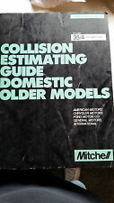 MItchell Collision Estimating Guide Domestic, Older Models 1993
