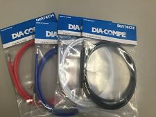Genuine Dia-Compe Brake Cables Red 1 Front & 1 Rear All Colours Old School BMX