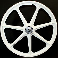 "Old School bmx 24"" skyway wheels flanged skyway tuffs cruiser 24"" BLACK OR WHITE"