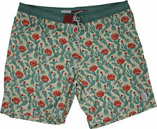 Katin Saguaro Boardshorts Green/Red
