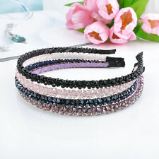 Lovely Women Chic Bead Crystal Head Headband Head Piece Hair Band Girl
