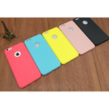 Luxury Candy Color Silicon Cover Slim Silica Gel Back Case for iPhone 6/6S