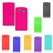 Premium Magnetic Wallet Flip Leather PU Case Cover For Samsung Galaxy J1 Mini