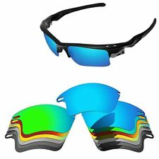 Polarized Replacement Lenses For-Oakley Fast Jacket XL Sunglasses Multi -Options