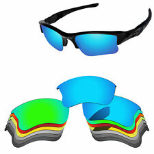 Polarized Replacement Lenses For-Oakley Flak Jacket XLJ Sunglasses Multi-Options