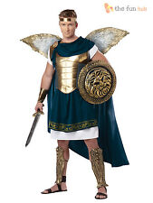Deluxe Adult Mens Archangel Mythical Greek God Angel Gabriel Fancy Dress Costume