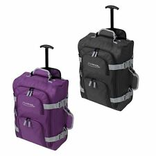 Lightweight Cabin Wheeled Travel Hand Luggage Trolley Holdall Bag Case Suitecase