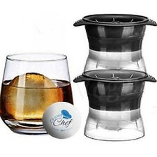 Round Ice Balls Maker Tray Large Sphere Molds Cube Whiskey Cocktails Hot 0104