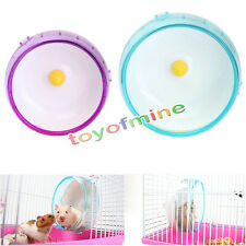 New Silent Hamster Plastic Mouse Mice Exercise Running Spinner Wheel Pet Toy New