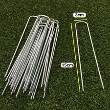 Artificial Grass Turf U Pins Metal Galvanised Pegs Strong Staples Weed Control