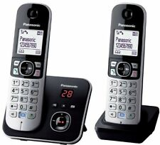 New Panasonic KX-TG6822EB Twin DECT Cordless Telephone Set with Answer Machine