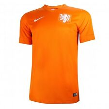NETHERLANDS HOLLAND XL HOME 2014/15 S/S ORANGE NIKE FOOTBALL SOCCER SHIRT JERSEY