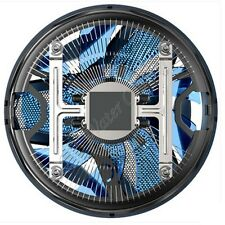 120mm Fan CPU Cooler 3-Pin w/ LED for AMD INTEL Socket up to 65W