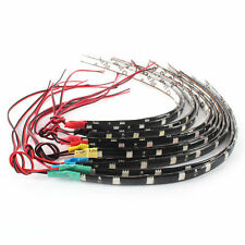 Waterproof Hot 2PC 12 LEDs 30cm 5050 SMD LED Strip Light Flexible 12V Car Decor