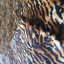 "1 Qty Bed Skirt Super Soft Egyptian Cotton 1000 TC Drop(15"") Tiger Print"